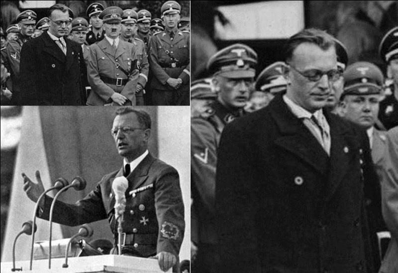 Allons en Autriche, plutôt en Allemagne ! Ce personnage fut le créateur du Parti nazi en Autriche. Il est à l'origine de l'Anschluss, côté autrichien. Ensuite, il s'occupera du pillage de la Hollande et de la persécution raciale dans ce pays. Qui est ce type ?