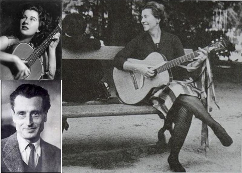 Allons en France ! Cette personne fera partie de ceux qui ont créé cet hymne à la résistance. D'ailleurs, elle chantera, aussi, un autre hymne à la résistance qui sera repris par des « grands » comme Joan Baez, Leonard Cohen…Qui est cette personne ?
