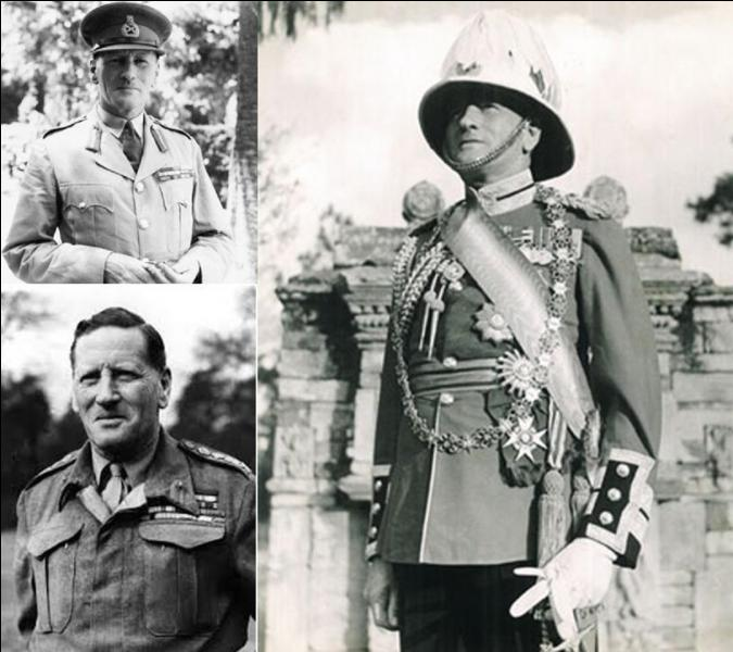 Allons en Grande-Bretagne ! Il échoua en Norvège. En Afrique du nord, il échoua face à Rommel et sera obligé de battre en retraite jusqu'à El Alamein. Il sera remplacé et sera muté en Inde.Qui est cette personne ?