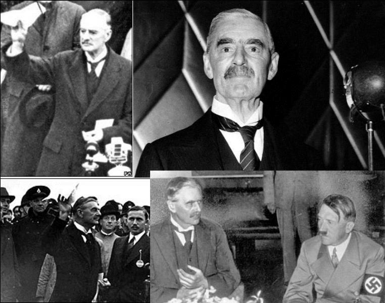 Restons en Grande-Bretagne ! Avant-guerre, cette personne était persuadée que l'Allemagne ne pouvait pas être vaincue si un conflit s'engageait. Il préférait négocier avec eux. Pourtant, ce fut lui qui déclarera la guerre à l'Allemagne. Il devait décéder avant la fin de l'année 1940.Qui est ce chef d'Etat ?