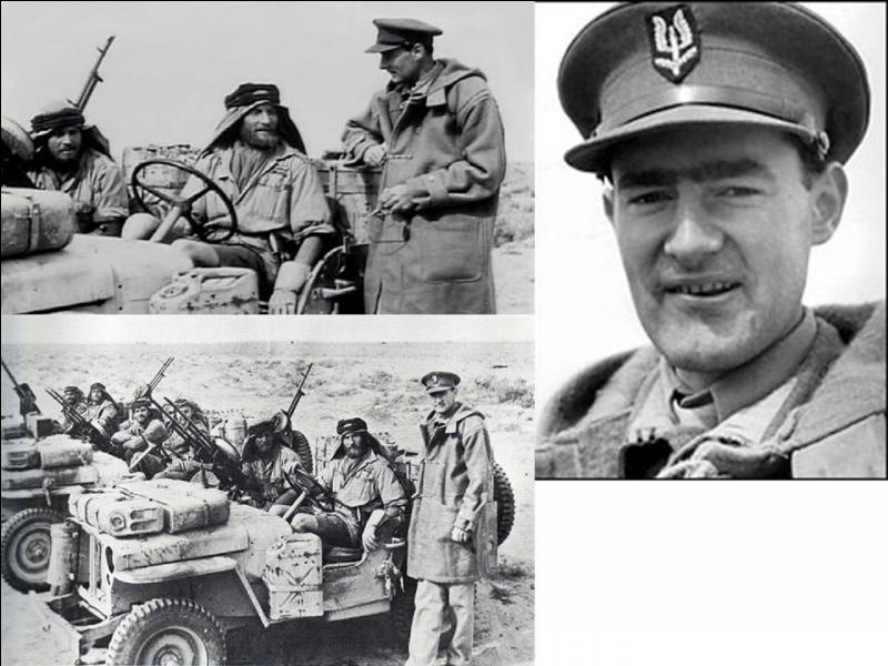Retournons en Grande-Bretagne ! On peut dire que cet homme est un des créateurs des « forces spéciales » actuelles. En réalité, il est à l'origine des SAS britanniques. En Afrique, cette unité combattait avec le « Long Range Desert Group », chargé de combattre loin derrière les lignes des forces de « l'Axe ».Qui est cette personne ?