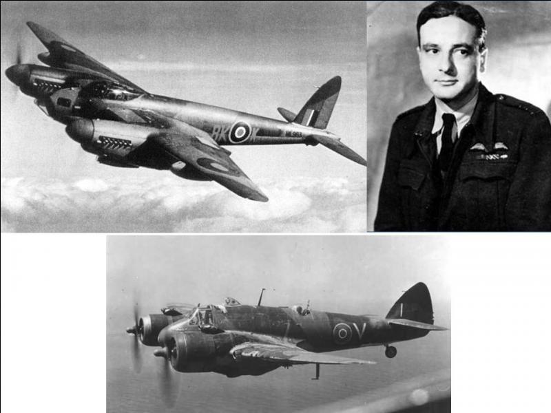 Allons en France ! Cet avocat est aussi un pilote dans le civil. A la défaite, il rejoint la France libre et deviendra pilote de guerre. Il combattra sur Bristol Beaufighter et De Havilland Mosquito. Il sera abattu au-dessus la Norvège en attaquant un pétrolier.Qui est ce héros ?