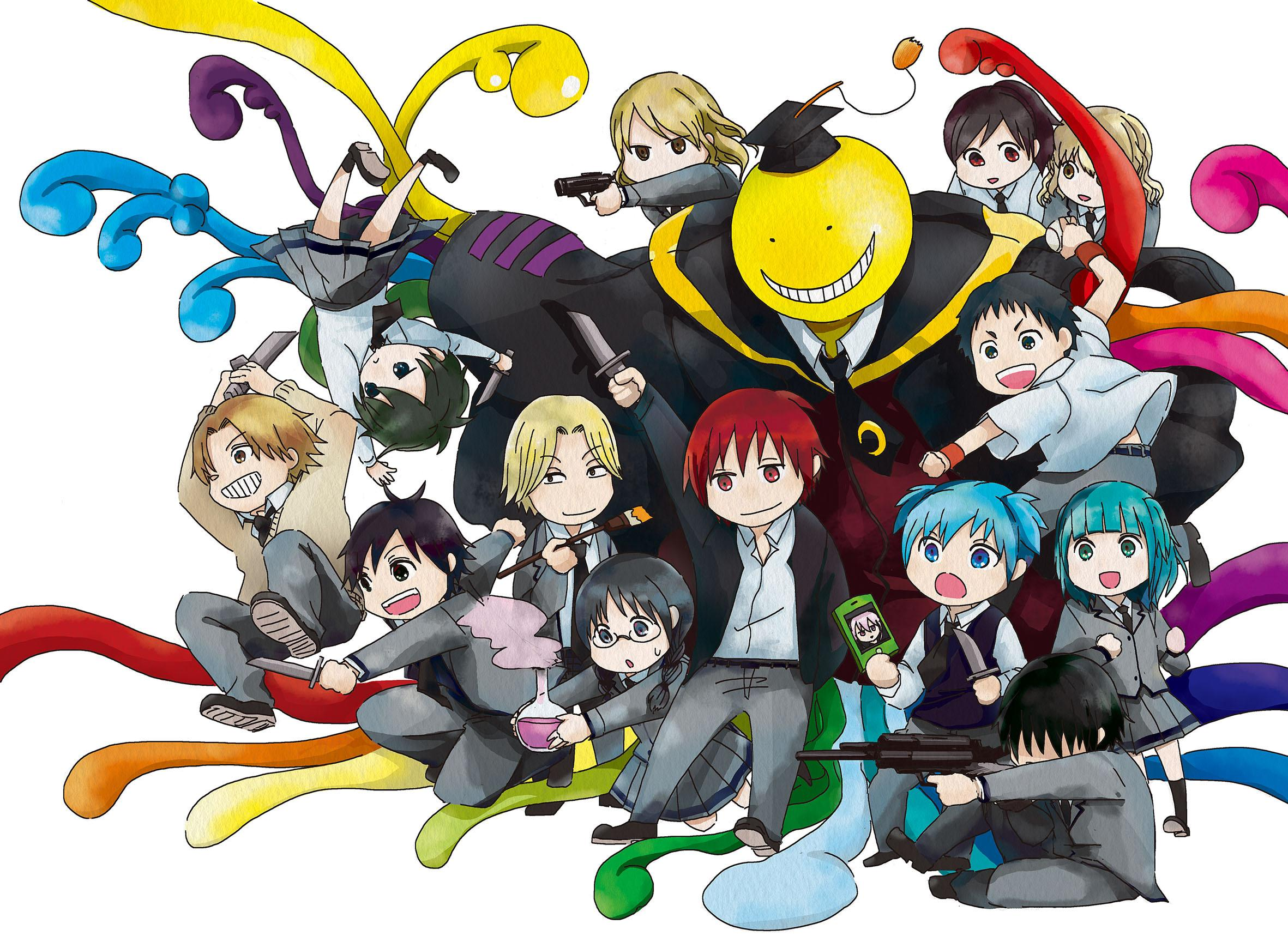 manga assassin classroom