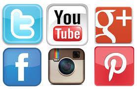 Trouvez les logos des réseaux sociaux