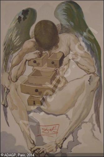 """A quel peintre, auteur de la toile """"Persistance de la mémoire"""" (plus connue sous le nom des """"montres molles""""), doit-on """"L'avare et le prodigue"""" ?"""