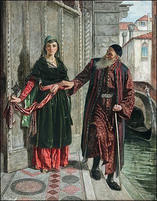 On retrouve l'avarice chez Shylock, riche usurier juif. C'est un personnage créé par :