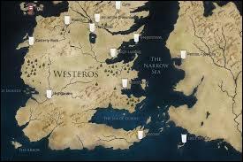 Quelle est la région située plus au sud de Westeros ?