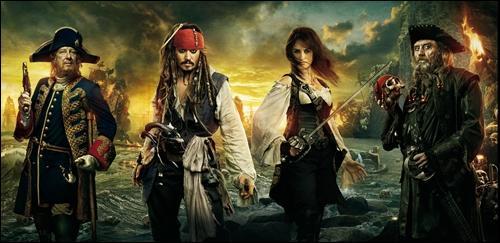 Film de pirates, d'action et qui fait aussi partie de l'univers fantastique. De quel film s'agit-il ?