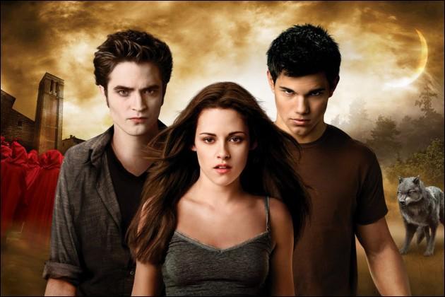 L'histoire est celle d'un vampire, d'une humaine, d'un loup-garou. En résumé, vous me dites que c'est...