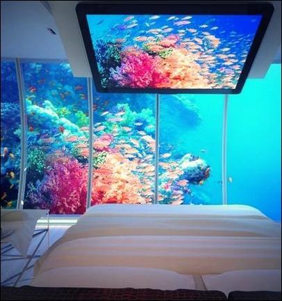 Vrai ou faux ? Il y a déjà plusieurs personnes qui ont sérieusement pensé à installer des hôtels sous l'océan.