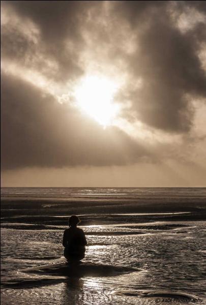 calogero face a la mer