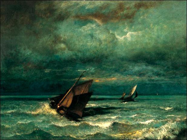 Le bonheur est comme un frêle voilier sur la mer. Par quoi peut-il être détruit ?