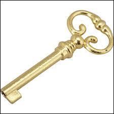 Où met-on la clé quand on fait faillite ?