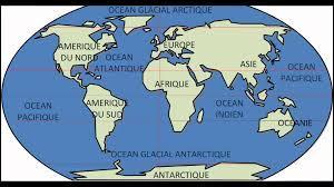 Combien d'océans existent dans le monde ?