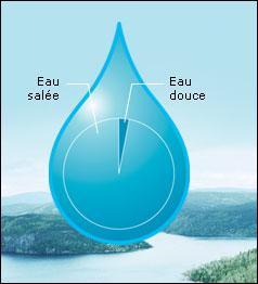 On peut trouver de l'eau douce sous les mers.