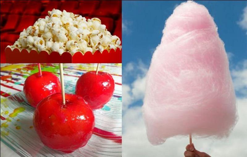 Ce produit s'appelle « Candy Floss » en Angleterre, « Cotton Candy » aux Etats-Unis et « Fairy Floss » en Australie. C'est un produit que l'on trouve plus dans une fête foraine qu'ailleurs. Il est fait de sucre, exclusivement ! Quelle est cette confiserie ?