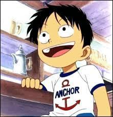 Quelle a été la réaction de Luffy ? Que voulait-il ?