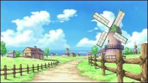 Comment s'appelle le village natal de Luffy ?