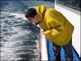 Ce phénomène est provoqué par le balancement de l'embarcation ce qui provoque des nausées et des vertiges. Comment s'appelle-t-il ?