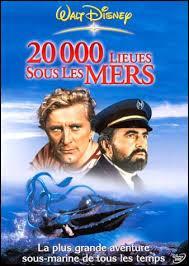 """Le film """"20 000 lieues sous les mers"""" est sorti en :"""