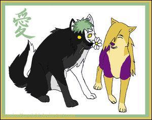 Allez, cette fois, c'est le dernier membre de l'akatsuki, mais avec une kunoichi de Konoha :