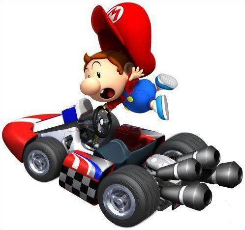 Mario Kart DS, les personnages