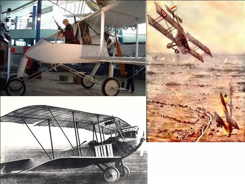 Le 01 octobre 1914, pour ma première fois, l'avion est utilisé en tant qu'arme de guerre. L'aviation militaire comptabilise son premier mort au combat.Que se passe-t-il ?