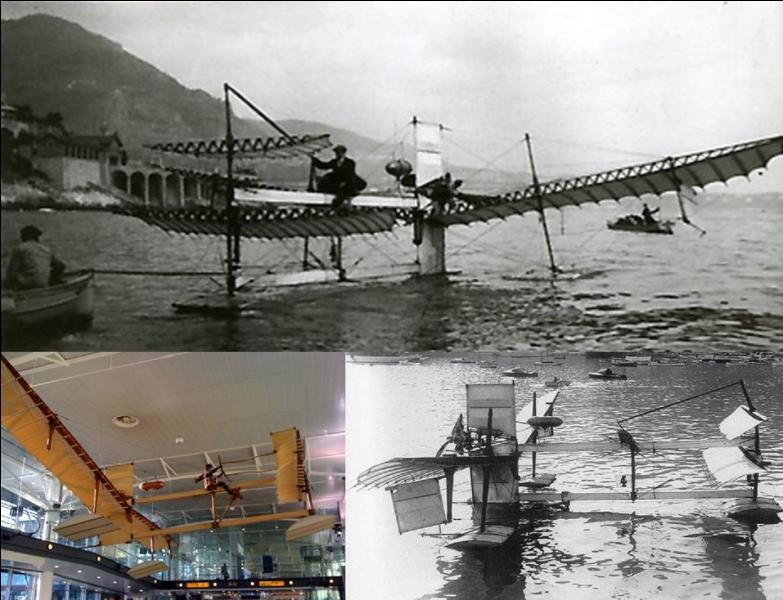 Nous sommes le 28 mars 1910, en France, près de Martigues (Bouches-du-Rhône), au bord de l'étang de Berre. Le premier hydravion (voir photo) est prêt pour son premier vol. Son pilote, Henri Fabre, est aux commandes. C'est une réussite ! Comment se nomme cet hydravion ?