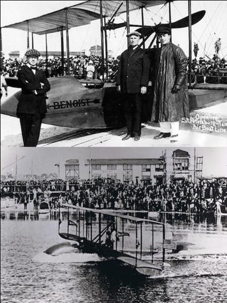 Question 13 : En 1914, la première ligne commerciale régulière est ouverte. Cette ligne dessert les villes de Saint-Petersburg et Tampa (Floride, USA). C'est une idée de l'entrepreneur américain P.E. Fansler.Mais, à votre avis, combien de passagers pouvaient monter à bord ?