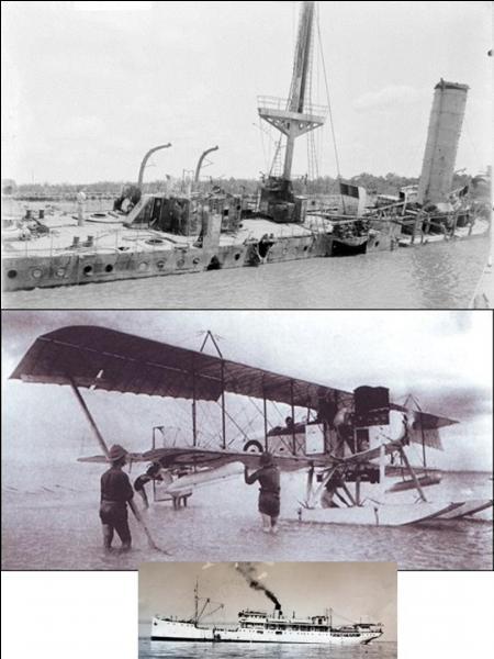 Le 10 juin 1916, les lieutenants belges Behaeghe et Collignon réalisèrent leur première. Cela se passait en Afrique équatoriale, dans la ville de Kigoma, un port sur le lac Tanganyika. Cela n'a pas dû plaire aux forces allemandes de la région.Que se passa-t-il ?