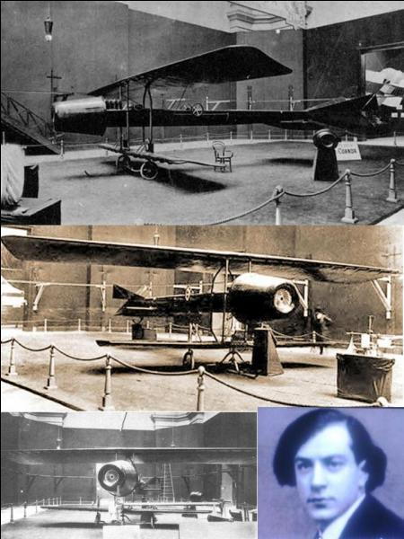 Voici une question un peu plus technique ! A votre avis, quels sont le nom et la nationalité du concepteur du premier avion à réaction ?