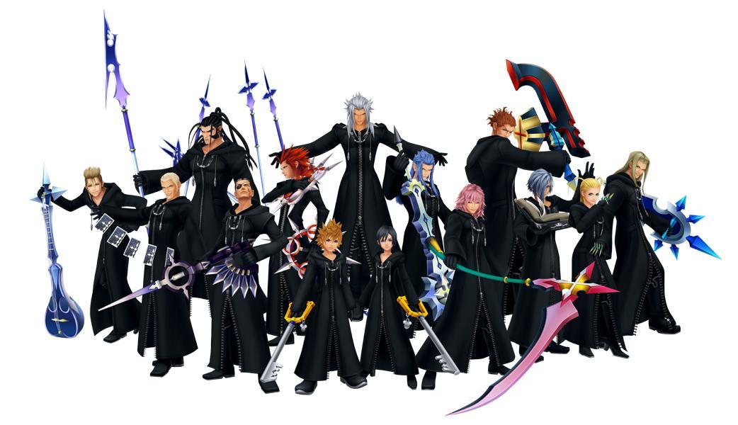 Kingdom Hearts - L'Organisation XIII