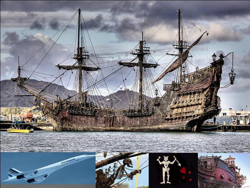Je ne suis pas connu sous ce nom ! Je suis un ancien navire négrier « transformé » en bateau pirate après ma capture par un des plus grands pirates de l'histoire. Mon dernier nom était « Queen's Anne Revenge ».Quel a été mon véritable nom ?