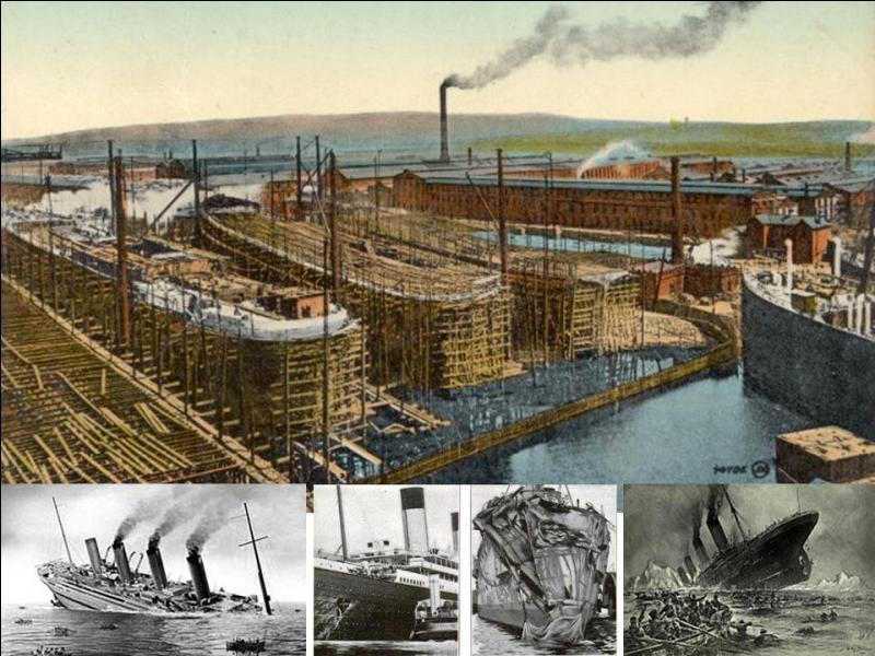Dans la nuit du 14 au 15 avril 1912, un navire coule. Son « sister-ship » coule le 16 novembre 1916, torpillé par un sous-marin allemand. Par contre, son autre « sister-ship » ne subira pas de naufrage et mènera une carrière normale ! Quel est le seul navire à ne pas avoir fait naufrage ?