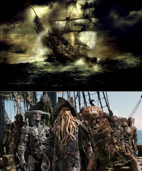 Si vous rencontrez ce bateau, semble-t-il, c'est un mauvais présage ! Cela fait plusieurs siècles qu'il navigue ! « Puisqu'il te plaît tant de tourmenter les marins, tu les tourmenteras, car tu seras le mauvais esprit de la mer. Ton navire apportera l'infortune à ceux qui le verront. ».Quel est ce bateau ?