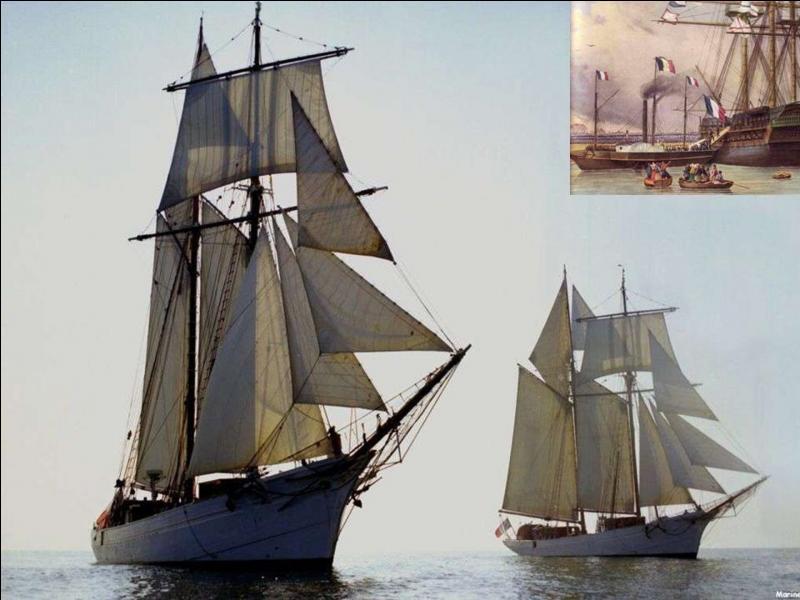 Je suis quatrième et dernier bateau portant ce nom. Mais, je suis le descendant d'un premier navire mis en service pendant le règne de François 1e. Actuellement, je sers à la formation des chefs de quart de la Marine nationale.