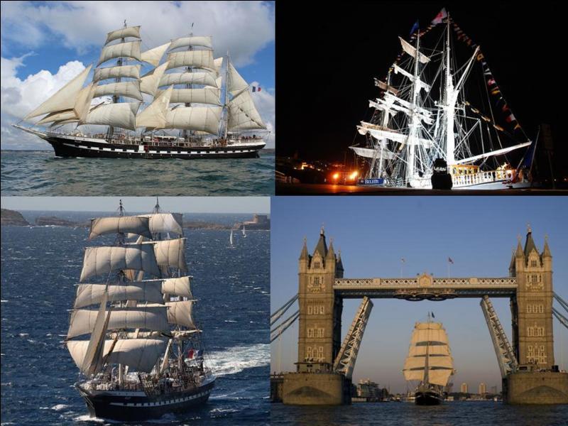C'est le plus ancien trois-mâts européen, c'est, également le dernier trois-mâts français. De construction française, il a été également anglais et italien. Rendu au pavillon français, il sera, entre autres, utilisé par la Marine française pour l'entraînement de ses mousses.Quel est ce bateau ?