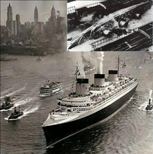 J'ai eu une carrière très courte. Symbole du luxe, j'ai navigué entre l'Europe et les USA pendant 3 ans. J'ai « vécu » 10 ans. La 2e Guerre mondiale provoquera ma fin, même si cette fin fut accidentelle. En 1941, on m'a rebaptisé USS Lafayette.