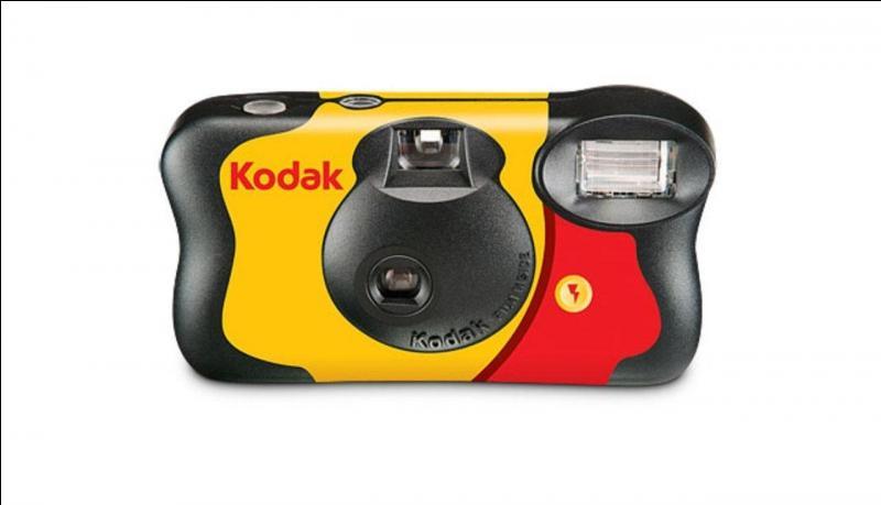 Le premier appareil photo jetable a été créé :