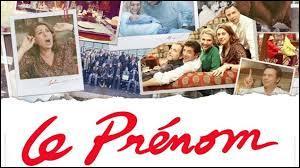 """Quel prénom Patrick Bruel veut-il donner à son futur fils dans le film """"Le Prénom"""" ?"""