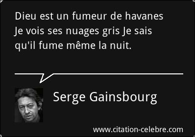 """Avec quelle actrice, interprétant le rôle d'Alice dans le film """"Je vous aime"""" de Claude Berry, Gainsbourg chante-t-il en duo """"Dieu est un fumeur de havanes"""" ?"""