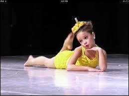 Mackenzie a fait une chorégraphie totalement adorable. Comment s'appelle-t-elle ?