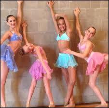 Quand Abby avait perdu toutes ses danseuses et qu'elle avait reconstitué une équipe, et Bella et Kaihly (deux nouveaux membres) sont exclues car leur mère avait critiqué Ally. Une semaine plus tard, elle intègre une nouvelle école de danse. Comment s'appelle leur école de danse ?
