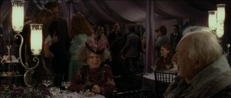 Lors de la cérémonie, Fleur Delacour portait la tiare de Muriel Weasley en hommage à la famille Weasley. Quel est le lien de parenté entre Muriel Weasley et Molly Weasley ?