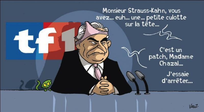 Surnom populaire donné à un personnage célèbre de la France (d'en haut) !