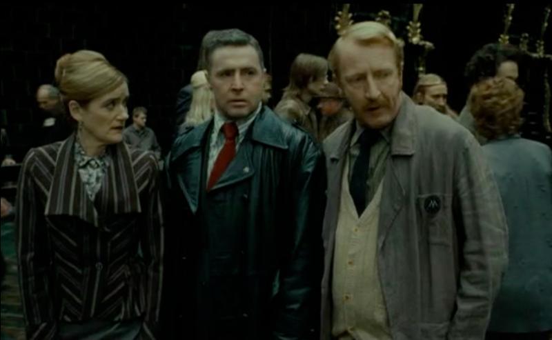 """Ron Weasley prend l'apparence de Reginald Cattermole. On apprend sa fonction dans """"Harry Potter et les Reliques de la Mort"""" (Partie I). Dans quel département travaille-t-il ?"""