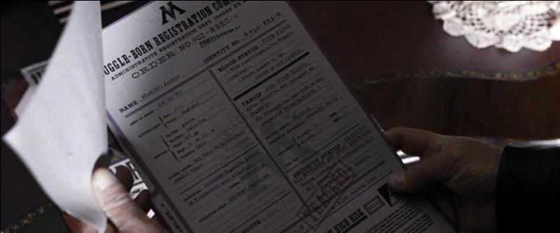 Ayant réussi à lâcher Pius Thicknesse, Harry Potter (Albert Runcorn) trouve le bureau de Dolores Ombrage. Il met la main sur un dossier secret et l'œil magique d'Alastor Maugrey dit Fol-Œil. Qui est concerné par le dossier secret ?