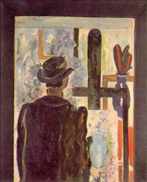 """Qui a peint """"L'homme au chevalet"""" ?"""