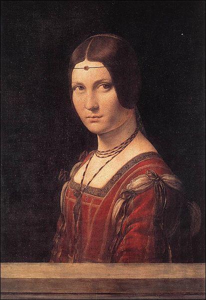 """Qui a peint """"La belle ferronnière"""" ?"""