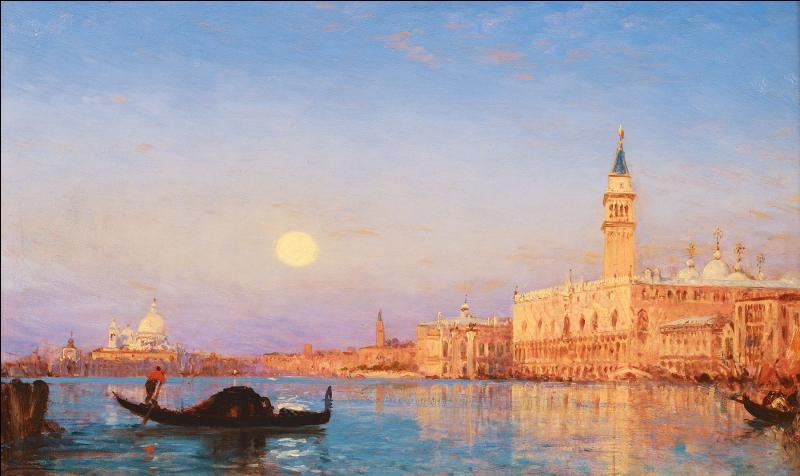 """Qui a peint """"Lever du soleil sur le Grand Canal"""" ?"""